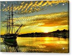 Dunbrody Famine Ship Acrylic Print