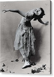 Duncan, Isadora 1878-1927. � Acrylic Print by Everett