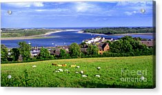 Acrylic Print featuring the photograph Dundrum Bay In County Down Ireland by Nina Ficur Feenan