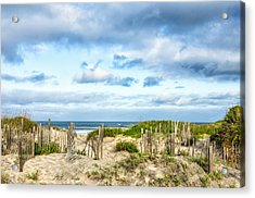 Acrylic Print featuring the photograph Dune At Coquina Beach by Gregg Southard