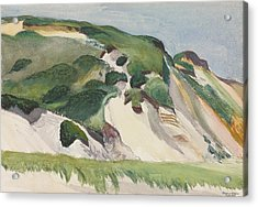 Dune At Truro Acrylic Print by Edward Hopper