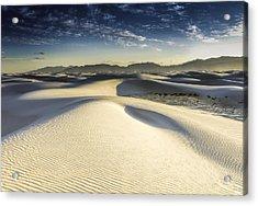 Dune Acrylic Print by Christian Skilbeck