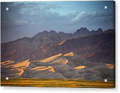Dune Delight Acrylic Print by Morris  McClung