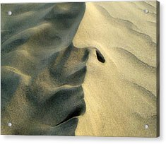 Sleeping Dune Face Acrylic Print