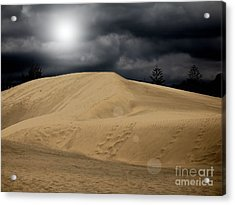 Dune Acrylic Print by Flow Fitzgerald