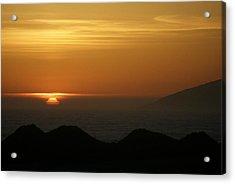 Dune Sunset 1 Acrylic Print