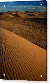 Dune Sunset Acrylic Print by Scott Cunningham