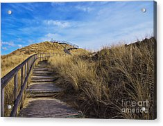 Dune With A View Acrylic Print