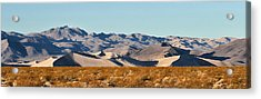 Acrylic Print featuring the photograph Dunes - Death Valley by Dana Sohr