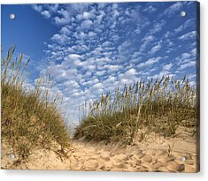 Dunes And Sky Acrylic Print