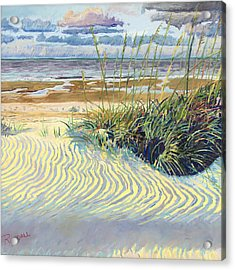 Dunes Acrylic Print by David Randall