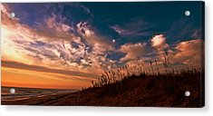 Acrylic Print featuring the photograph Dunes by John Harding