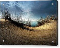 Dunes........... Acrylic Print by Wim Schuurmans