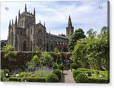 Dunfermline Abbey From The Abbot House Acrylic Print by Ross G Strachan