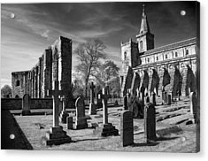 Dunfermline Palace And Abbey Acrylic Print by Ross G Strachan