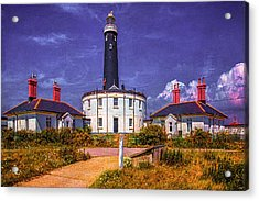 Acrylic Print featuring the photograph Dungeness Old Lighthouse by Chris Lord