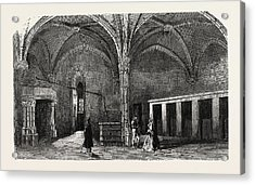 Dungeon Of Vincennes Hall Of Cardinals Acrylic Print by Litz Collection