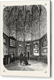 Dungeon Of Vincennes Acrylic Print by Litz Collection