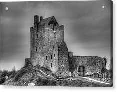 Acrylic Print featuring the photograph Dunguaire Castle Galway Ireland by JRP Photography