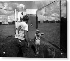 Dunking Booth Acrylic Print by Retro Images Archive