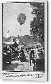 Dunlop Captive Hot Air Balloon Acrylic Print