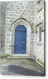 Dunlop Kirk Arched Doorway Acrylic Print by James Potts