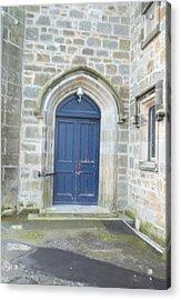 Dunlop Kirk Arched Doorway Acrylic Print