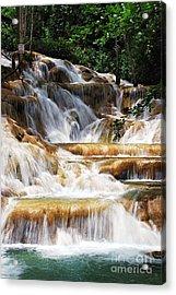 Dunn Falls Acrylic Print