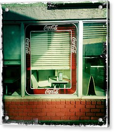 Dunnigan Cafe Acrylic Print by Suzanne Lorenz