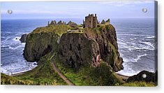 Dunnottar Castle Panorama Acrylic Print