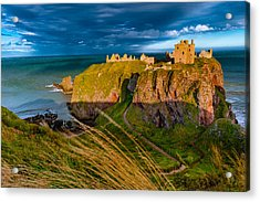 Dunottar Castle Acrylic Print by David Ross