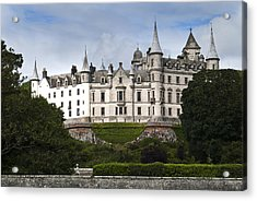 Acrylic Print featuring the photograph Dunrobin Castle Golspie Scotland by Sally Ross
