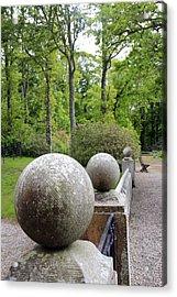 Dunrobin Garden Acrylic Print