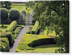 Dunrobin Garden View Acrylic Print