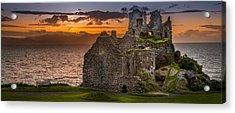 Dunure Castle Ayrshire Scotland Acrylic Print