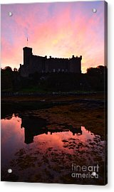 Dunvegan Castle At Dawn Acrylic Print