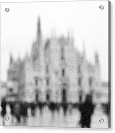Duomo Acrylic Print by Eugenia Kirikova