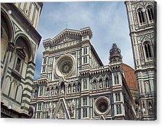 Duomo Florence Acrylic Print by David Nichols
