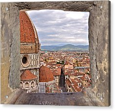 Duomo From Campanile Tower Acrylic Print