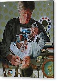 Duplicated2 Acrylic Print by Denny Bond