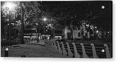 Dupont Circle Panorama Acrylic Print by Michael Williams