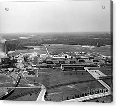 Dupont Seaford Factory Site, 1940s Acrylic Print by Hagley Archive