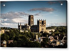 Acrylic Print featuring the photograph Durham Cathedral by Matt Malloy