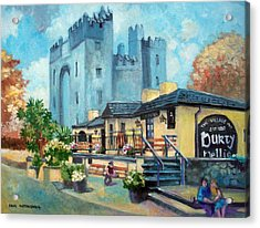 Durty Nellies  Co Clare Ireland Acrylic Print
