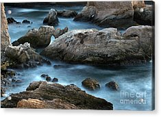 Acrylic Print featuring the photograph Dusk At Montana De Oro by Michael Rock