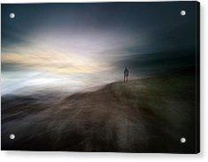 Dusk In Nowhere Acrylic Print