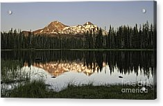 Dusk In The Cascades Acrylic Print