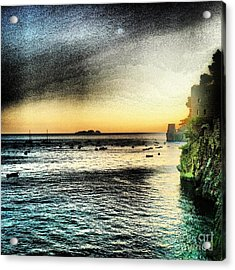 Dusk Settles In A Dream Acrylic Print by H Hoffman