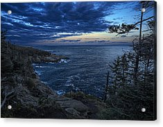 Dusk Vista At Quoddy Head State Park Acrylic Print by Marty Saccone