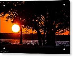 Dusky Cape Fear River  Acrylic Print